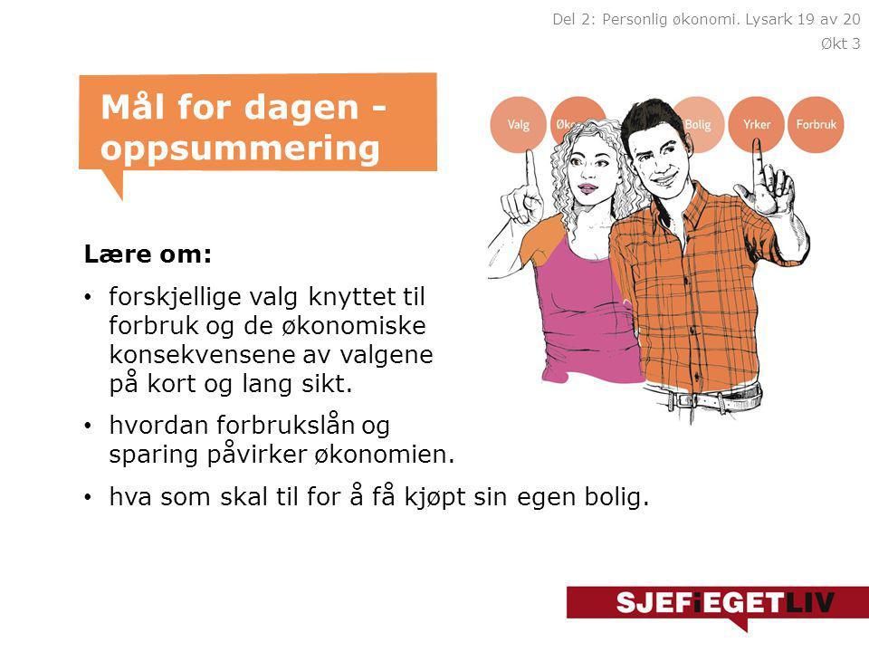 Finansiering av bolig Gå inn på Framtidig bolig.