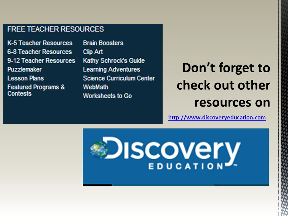 Don't forget to check out other resources on