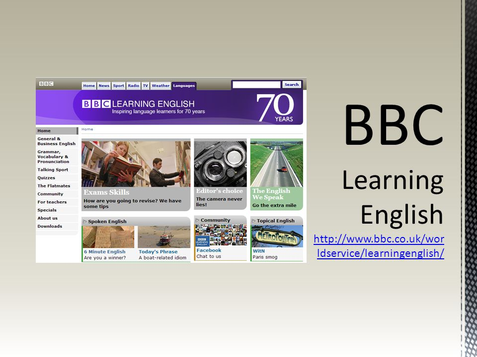 BBC Learning English   bbc. co