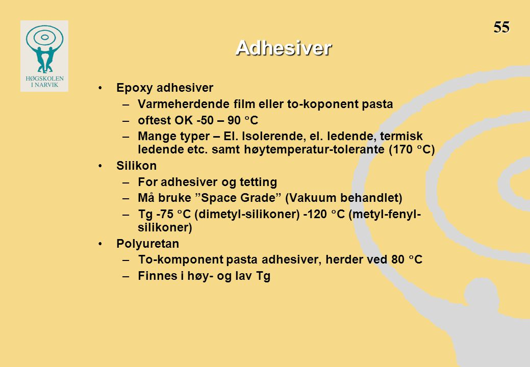 Adhesiver 55 Epoxy adhesiver