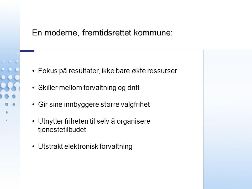 En moderne, fremtidsrettet kommune: