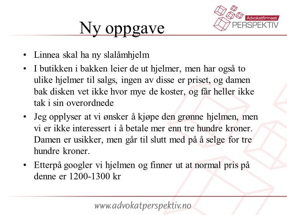 Ny oppgave Linnea skal ha ny slalåmhjelm