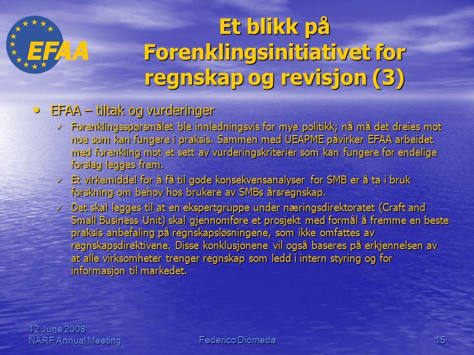 Et blikk på Forenklingsinitiativet for regnskap og revisjon (3)