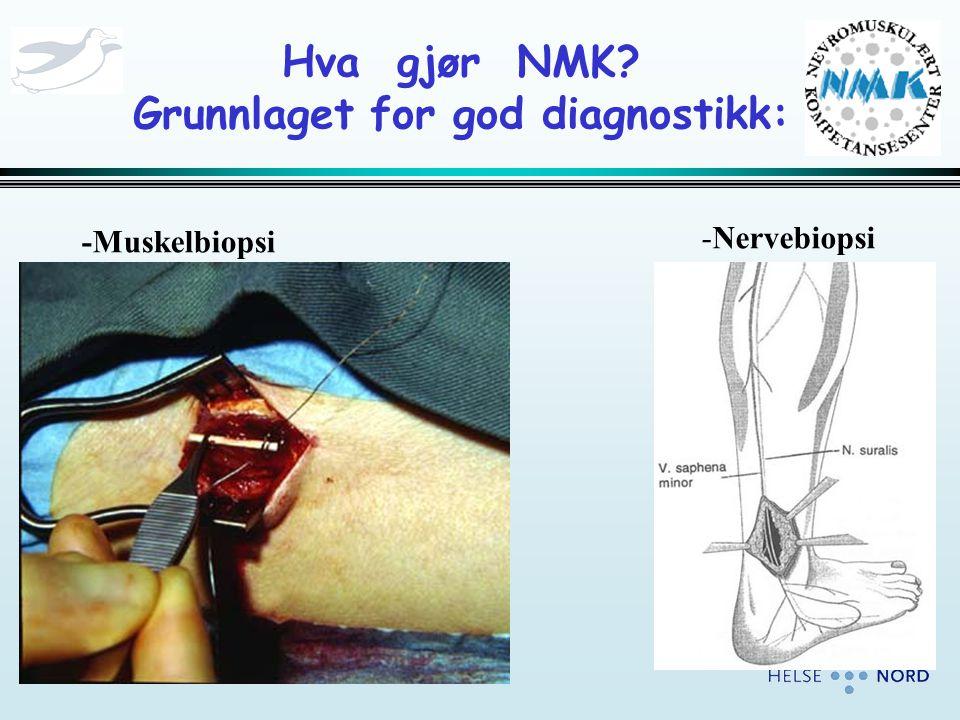 Hva gjør NMK Grunnlaget for god diagnostikk: