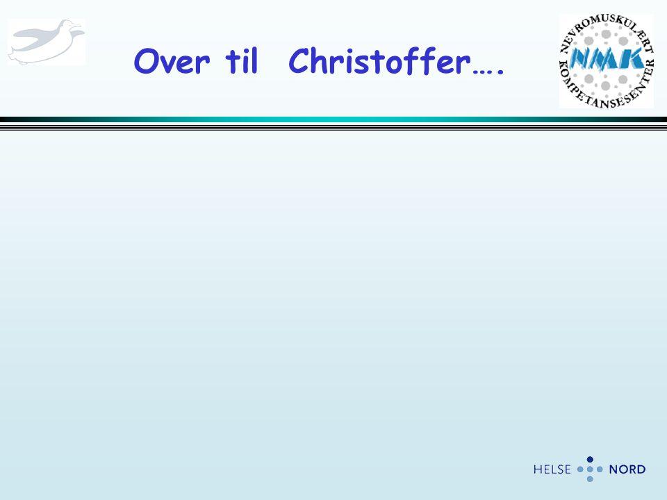 Over til Christoffer….