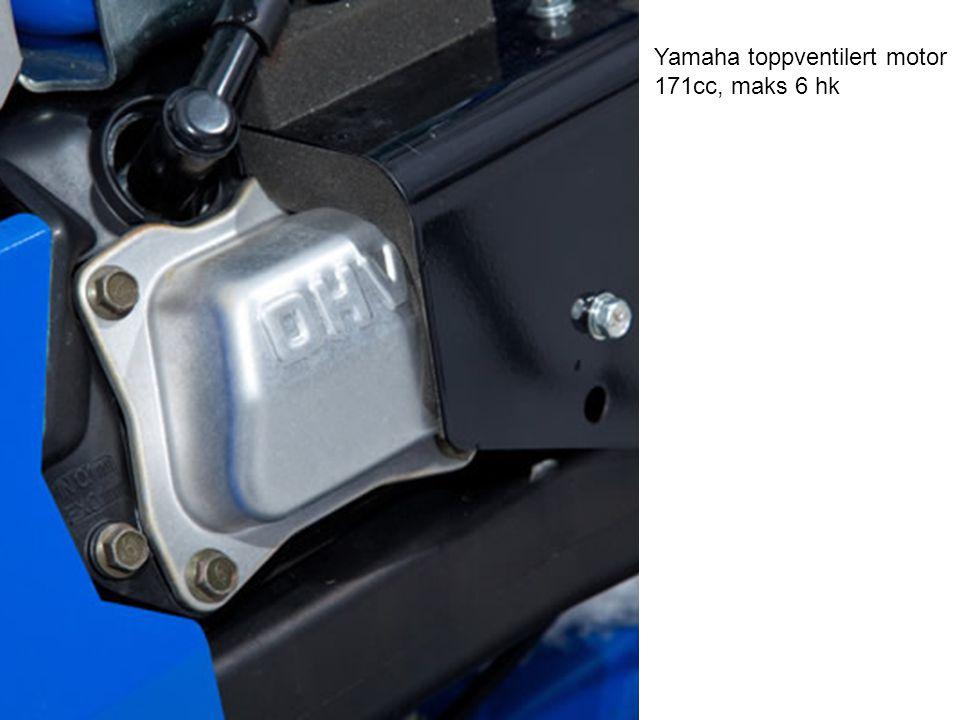 Yamaha toppventilert motor