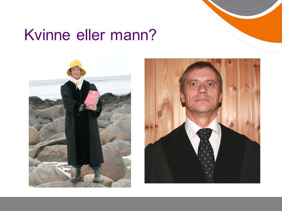 Kvinne eller mann