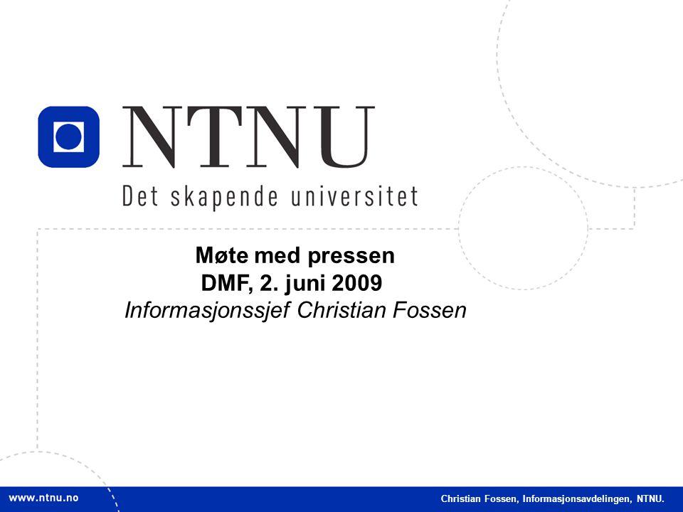 Informasjonssjef Christian Fossen