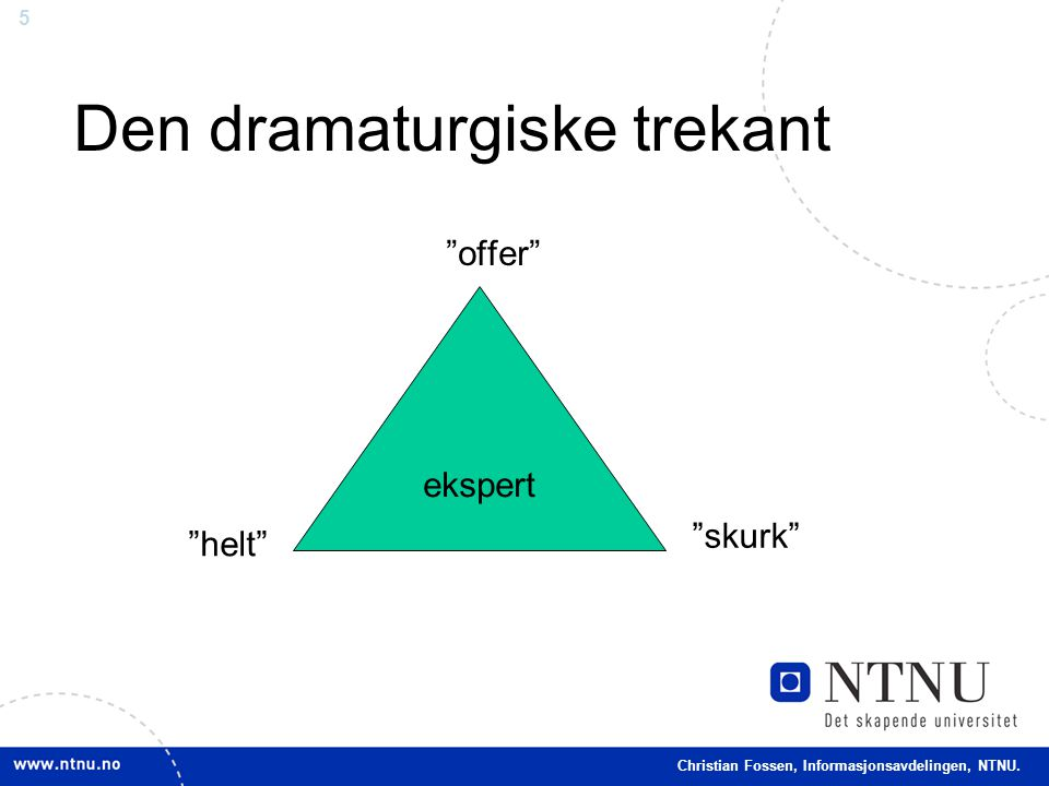 Den dramaturgiske trekant