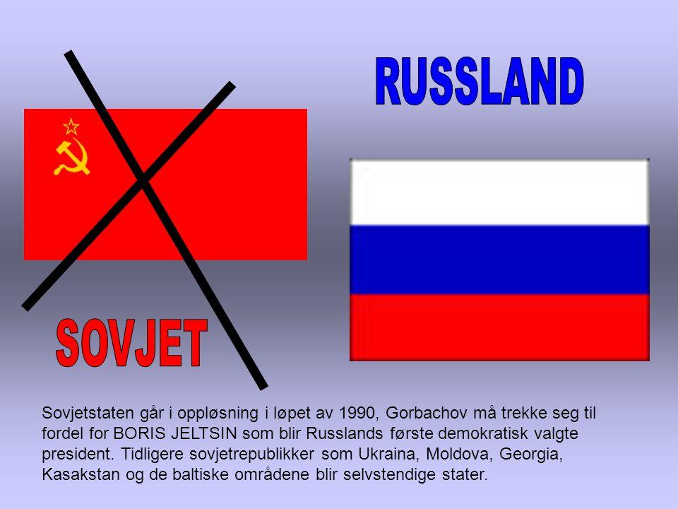RUSSLAND SOVJET.