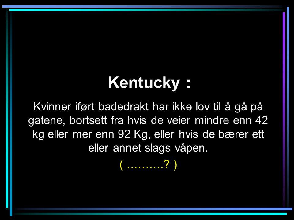 Kentucky :