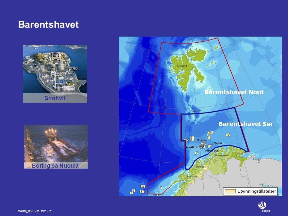 Barentshavet Barentshavet Nord Snøhvit Barentshavet Sør