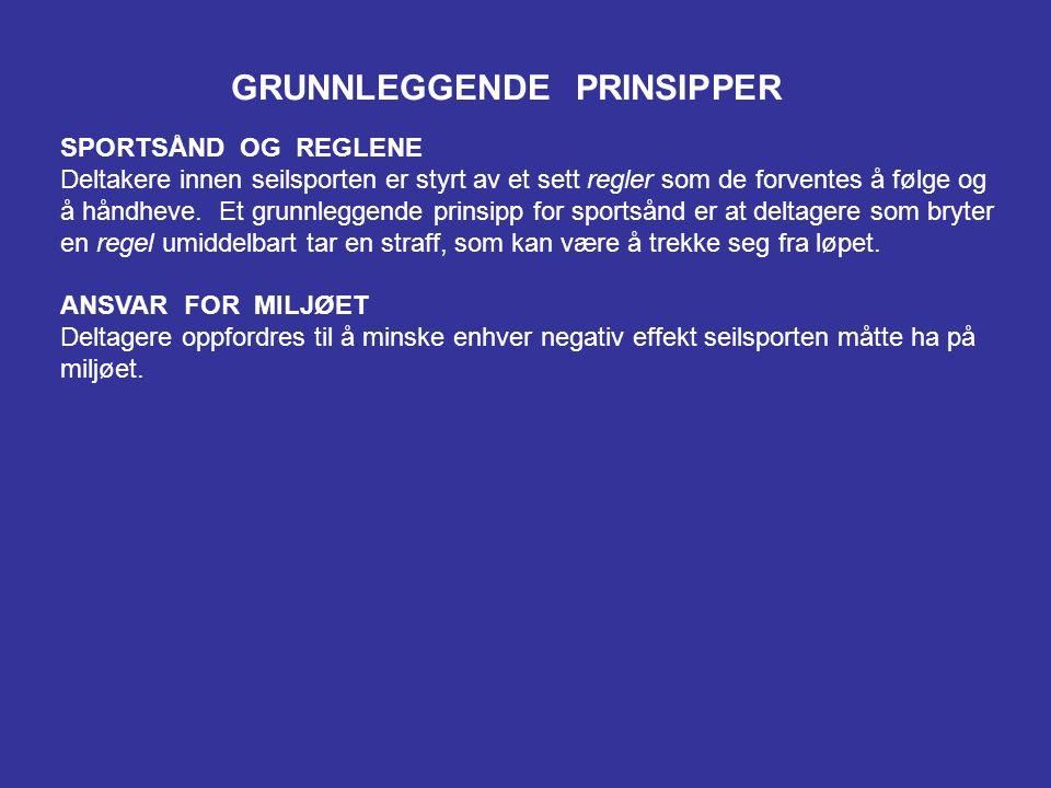 GRUNNLEGGENDE PRINSIPPER