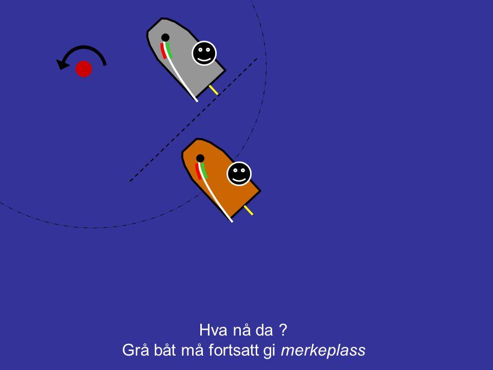 Grå båt må fortsatt gi merkeplass