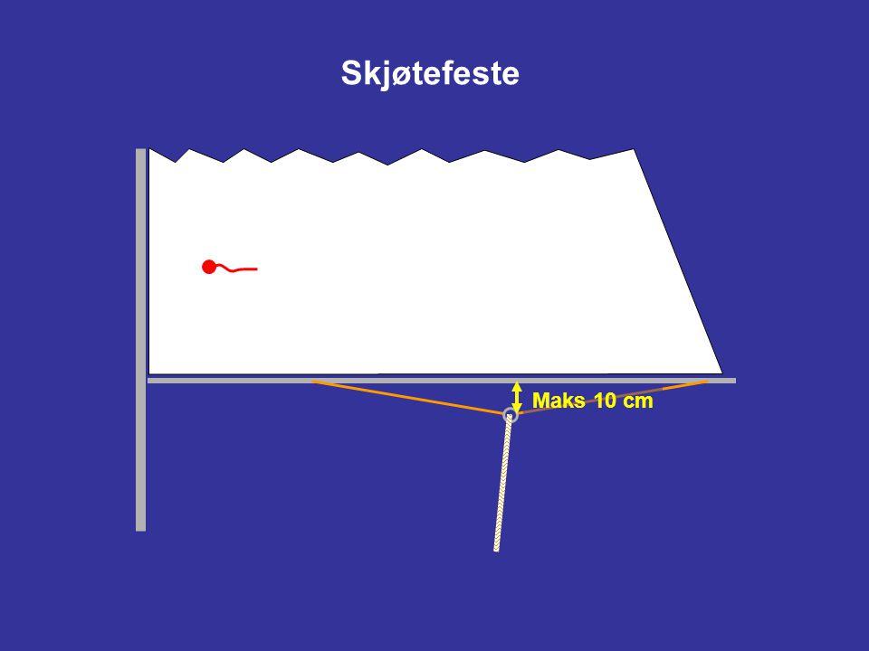 Skjøtefeste Maks 10 cm