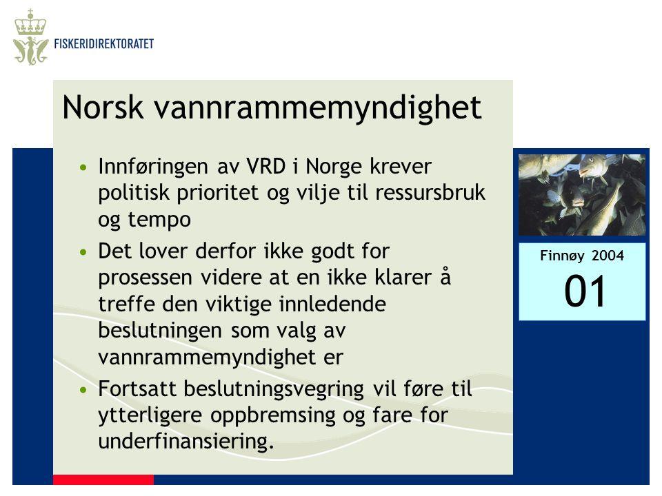 Norsk vannrammemyndighet