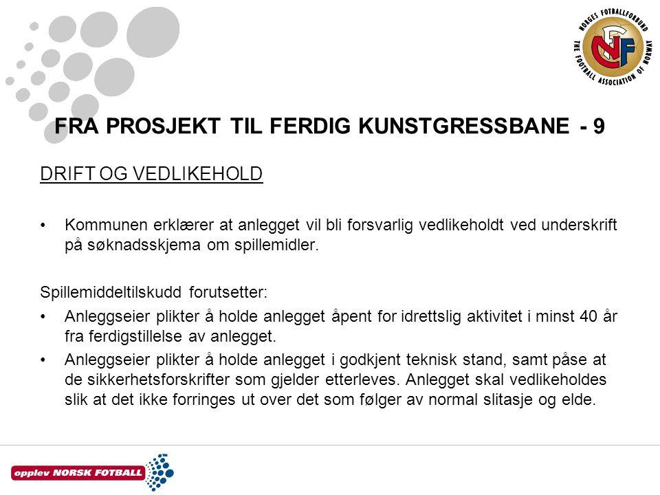 FRA PROSJEKT TIL FERDIG KUNSTGRESSBANE - 9