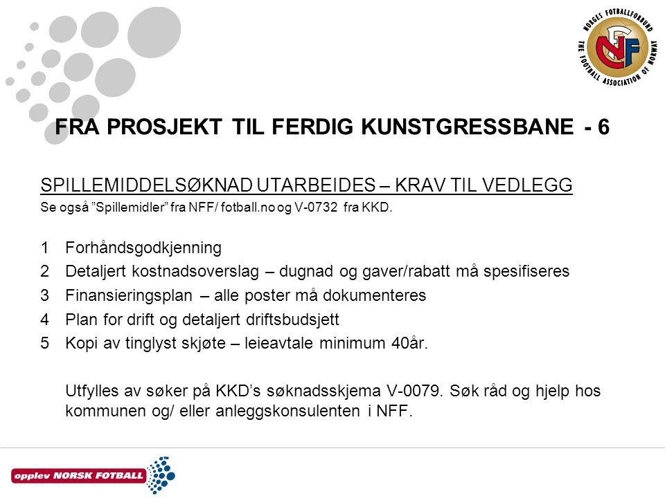 FRA PROSJEKT TIL FERDIG KUNSTGRESSBANE - 6