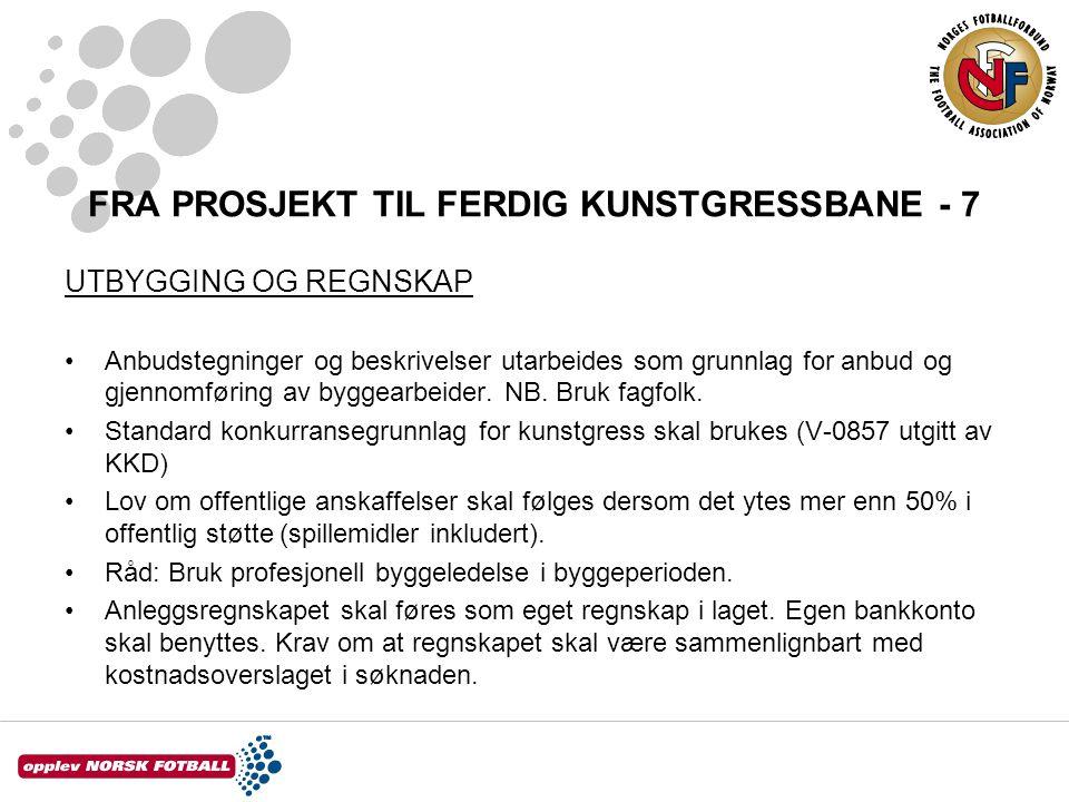 FRA PROSJEKT TIL FERDIG KUNSTGRESSBANE - 7