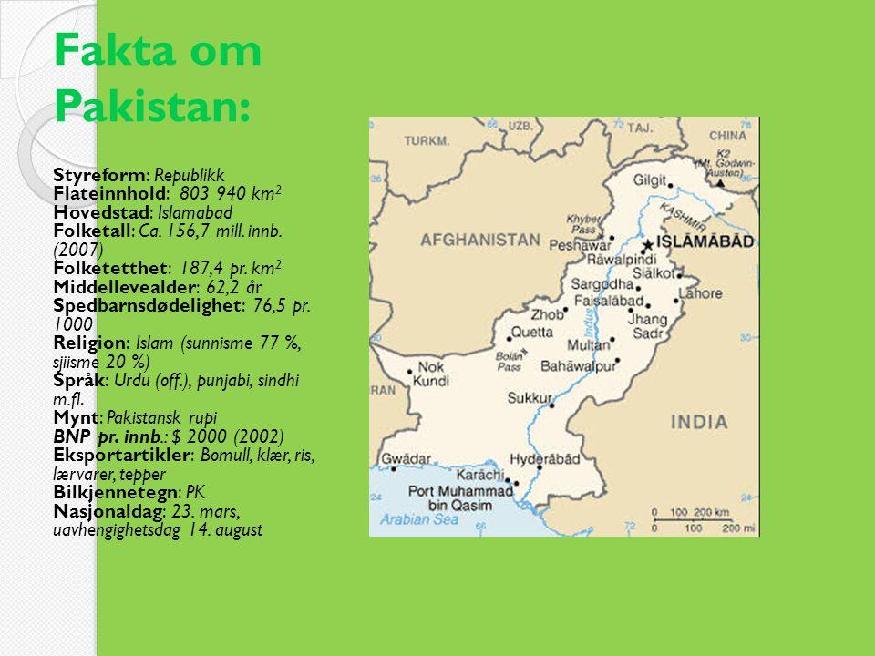 Fakta om Pakistan: