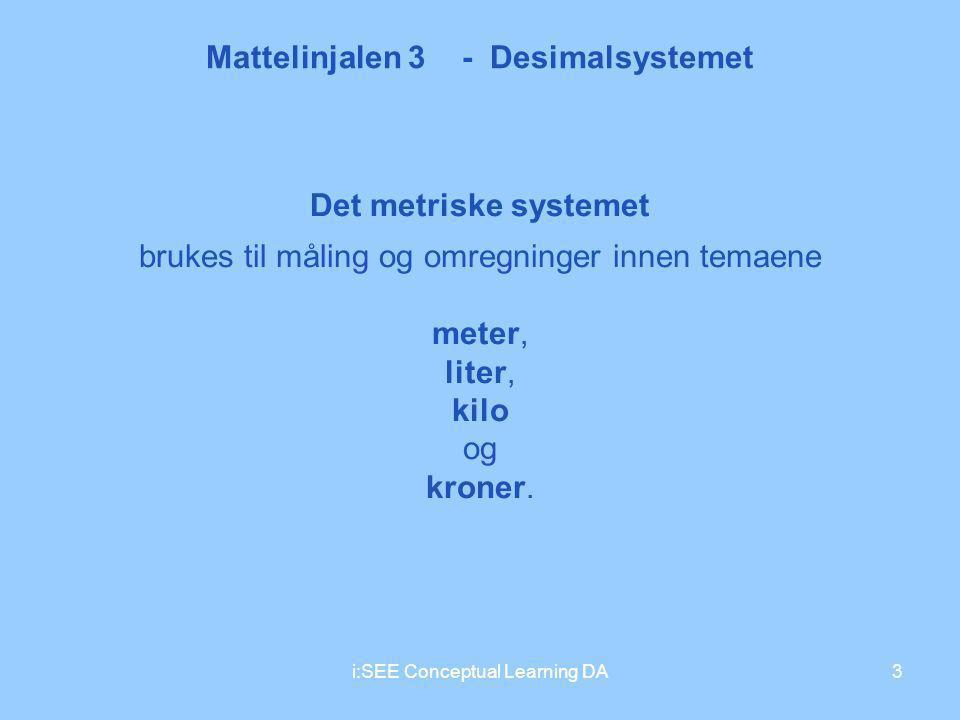 Mattelinjalen 3 - Desimalsystemet