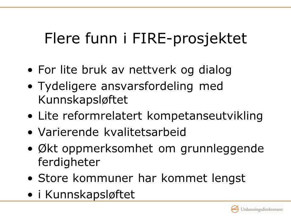 Flere funn i FIRE-prosjektet