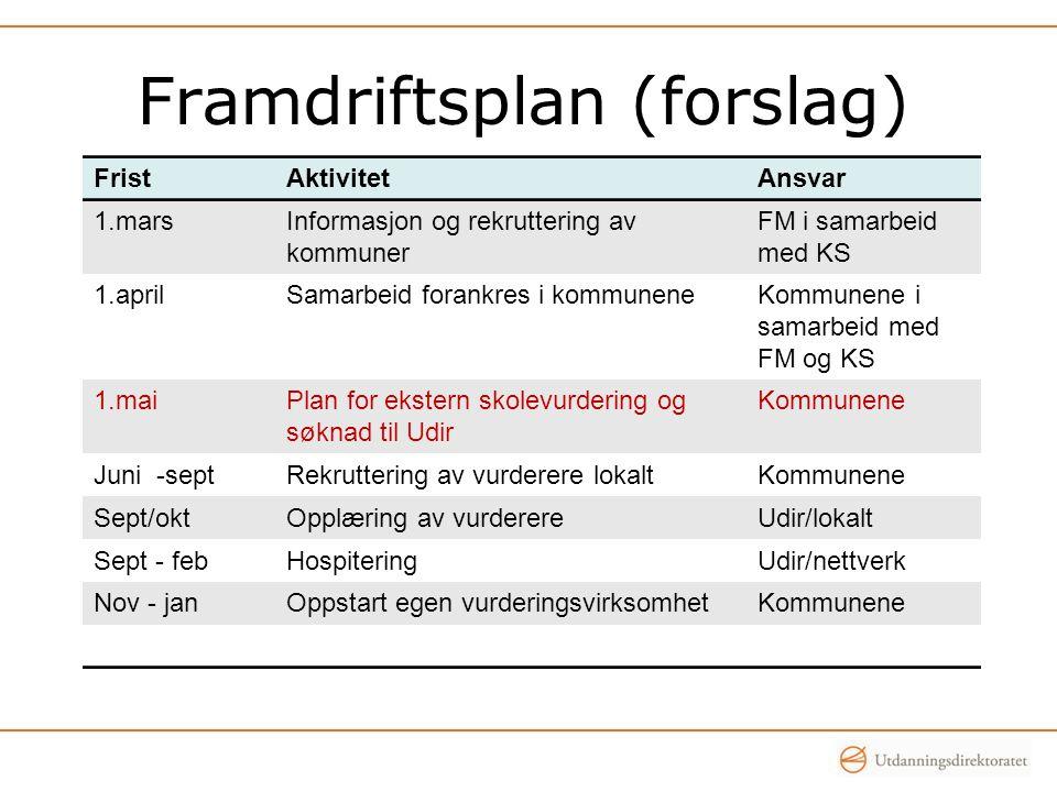 Framdriftsplan (forslag)