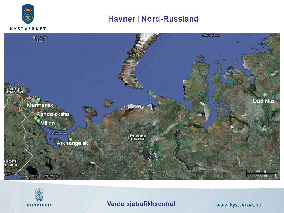 Havner i Nord-Russland Vardø sjøtrafikksentral