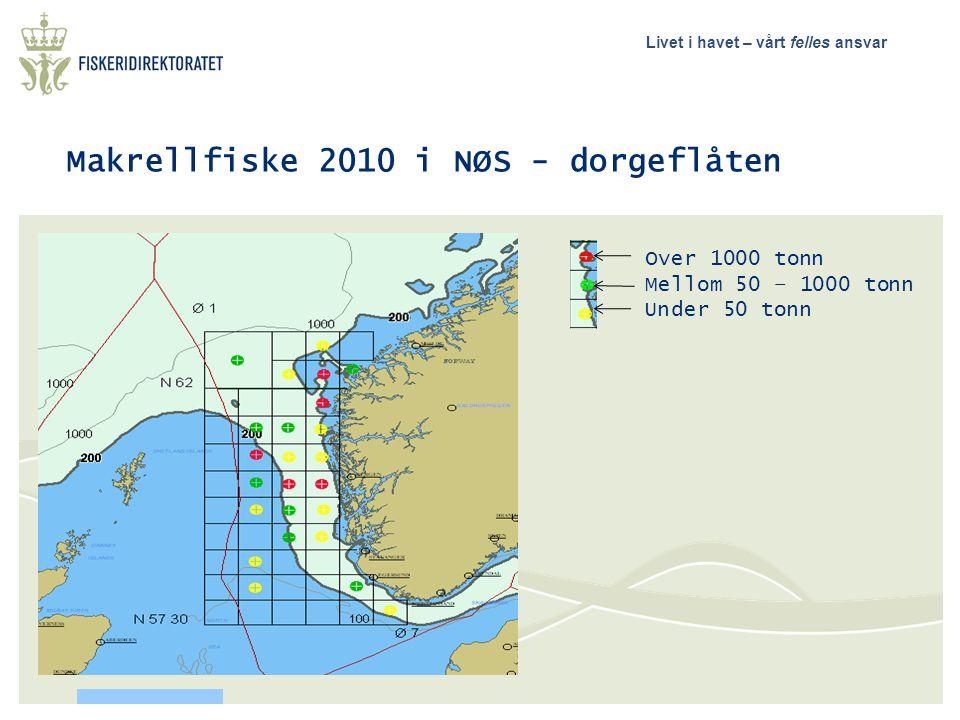 Makrellfiske 2010 i NØS - dorgeflåten