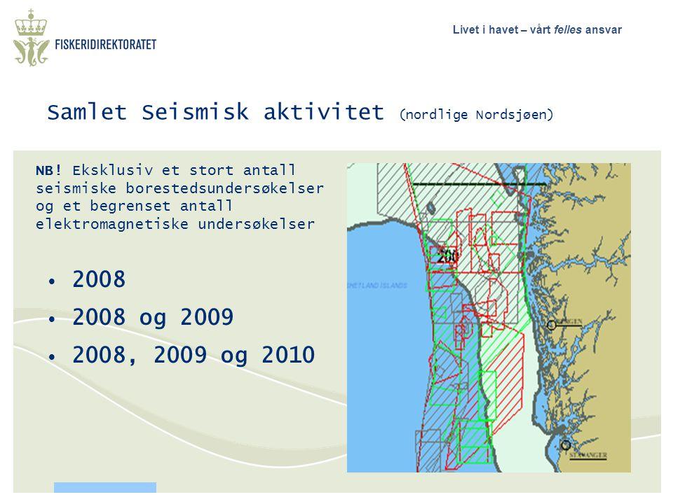 Samlet Seismisk aktivitet (nordlige Nordsjøen)