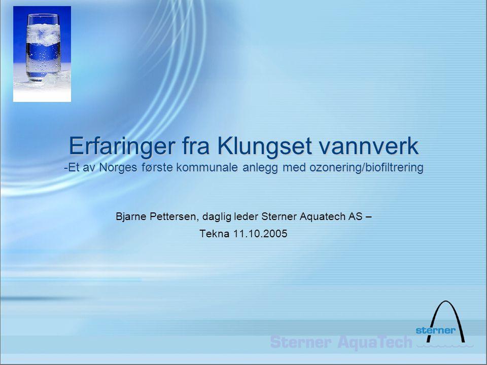 Bjarne Pettersen, daglig leder Sterner Aquatech AS – Tekna 11.10.2005