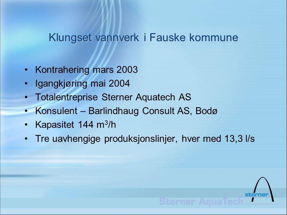 Klungset vannverk i Fauske kommune
