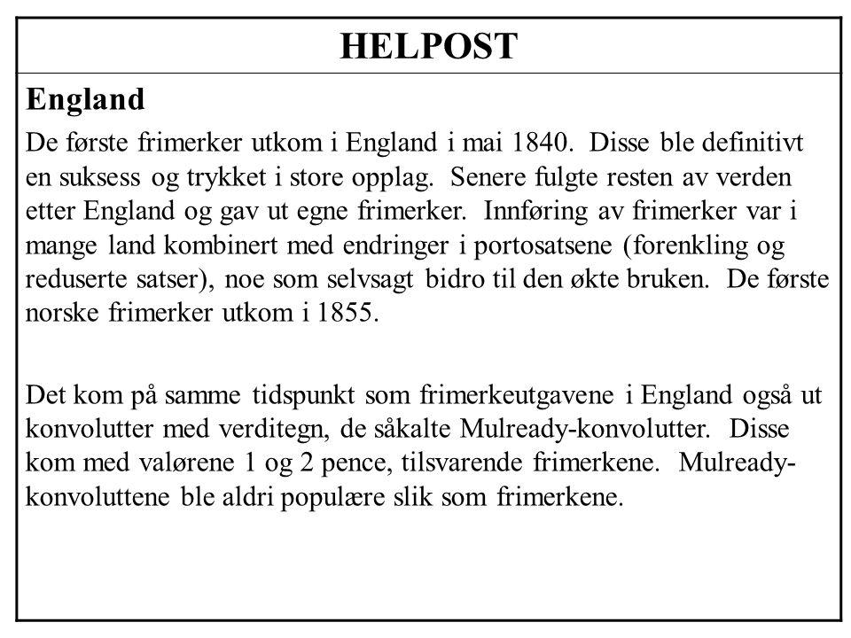 HELPOST England.