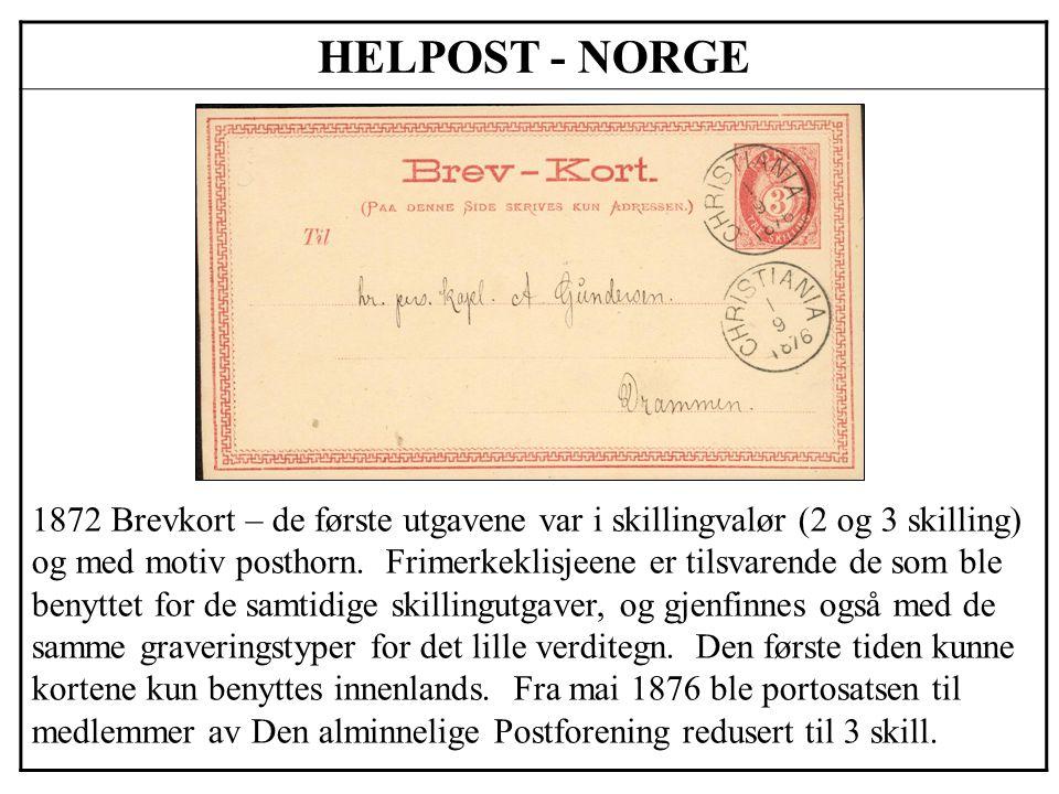 HELPOST - NORGE
