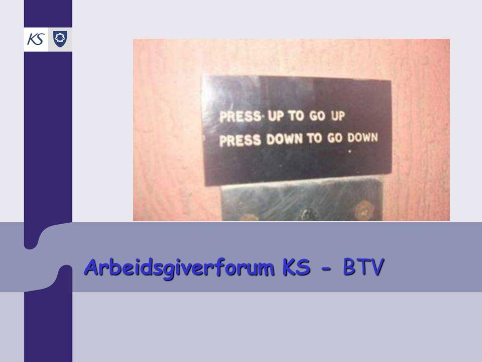 Arbeidsgiverforum KS - BTV