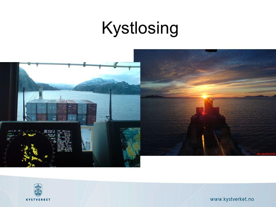Kystlosing Alle loser må gå opp til prøve for å få sertifikat på ulike sjøstrekninger.
