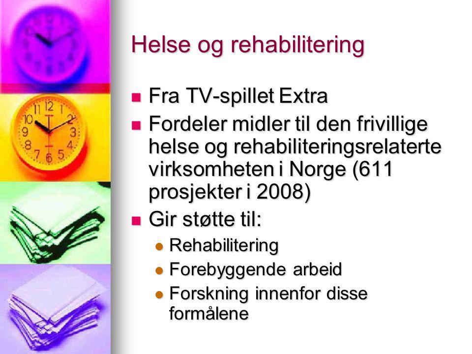 Helse og rehabilitering