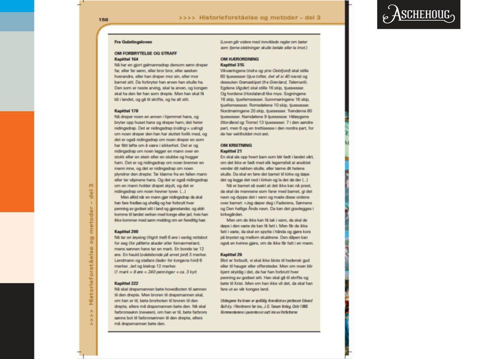 Ønsker faksimile: Side 158: utdrag av gulatingsloven (hele siden)