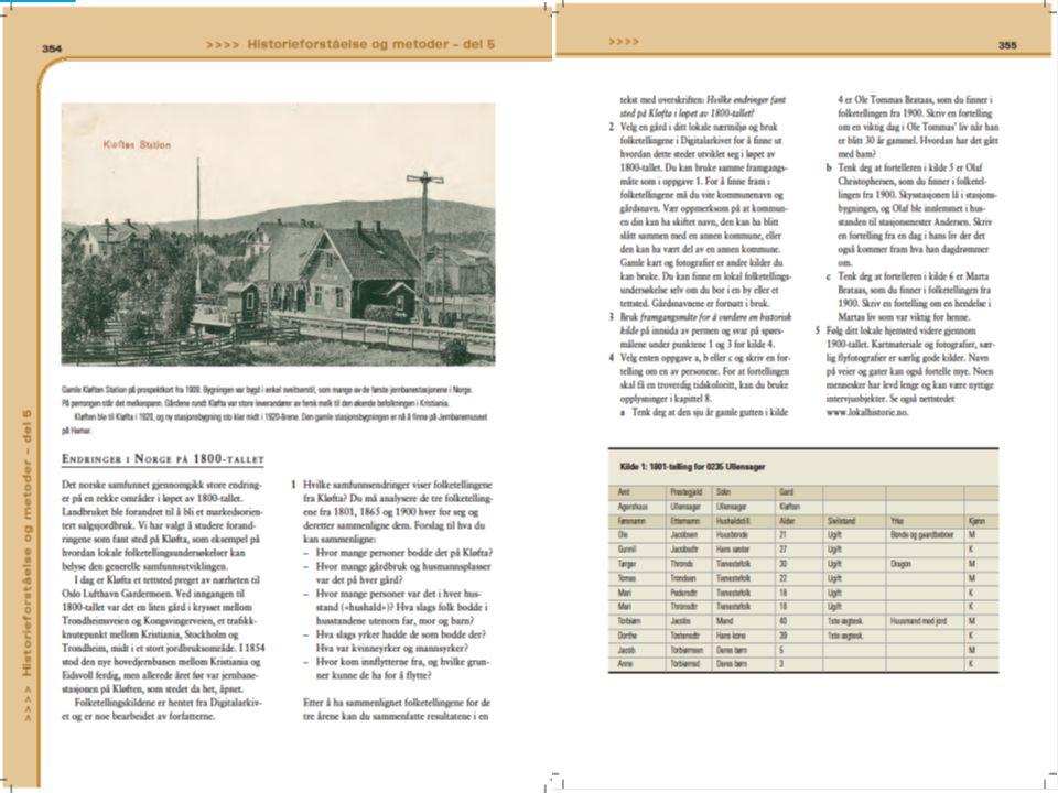 Ønsker faksimile: Vis hele oppslaget side 354-55. Deretter: Kilde 1 på side 355.