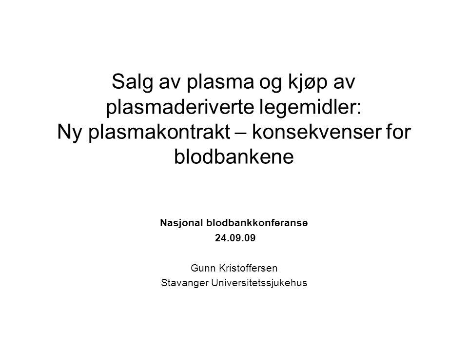 Nasjonal blodbankkonferanse