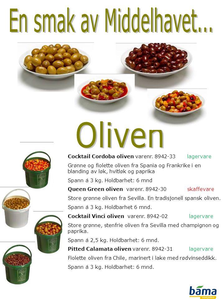 En smak av Middelhavet... Oliven