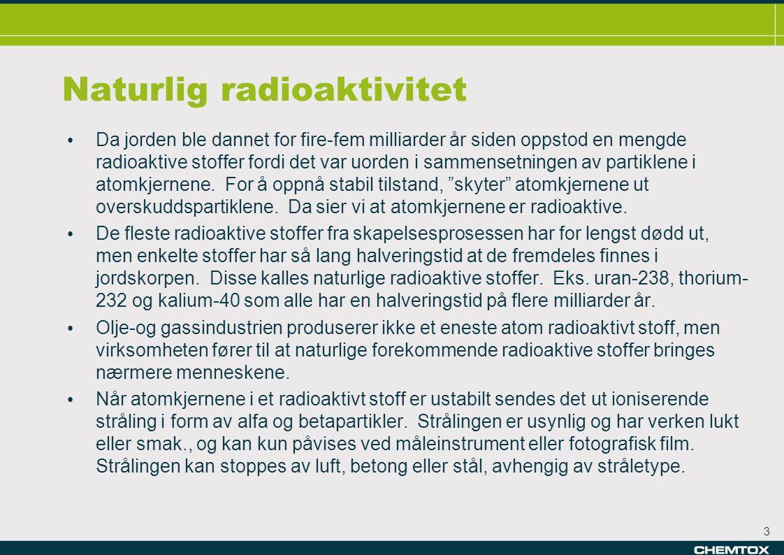 Naturlig radioaktivitet
