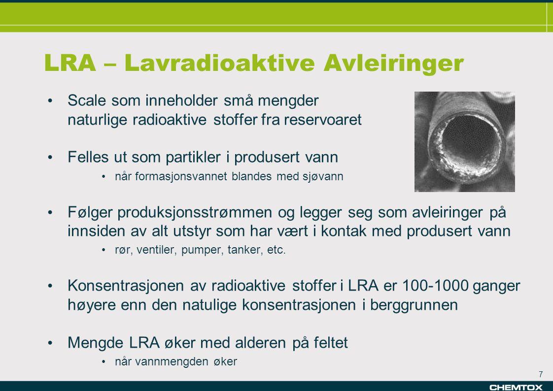 LRA – Lavradioaktive Avleiringer