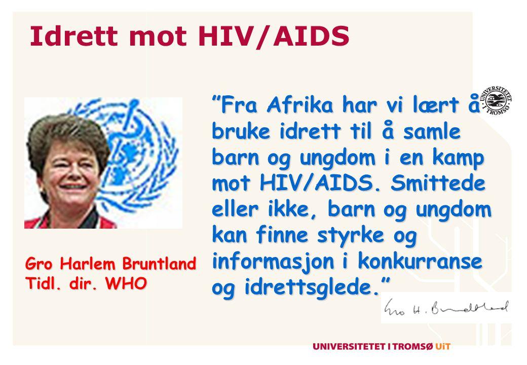 Idrett mot HIV/AIDS