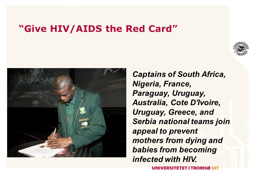 Give HIV/AIDS the Red Card