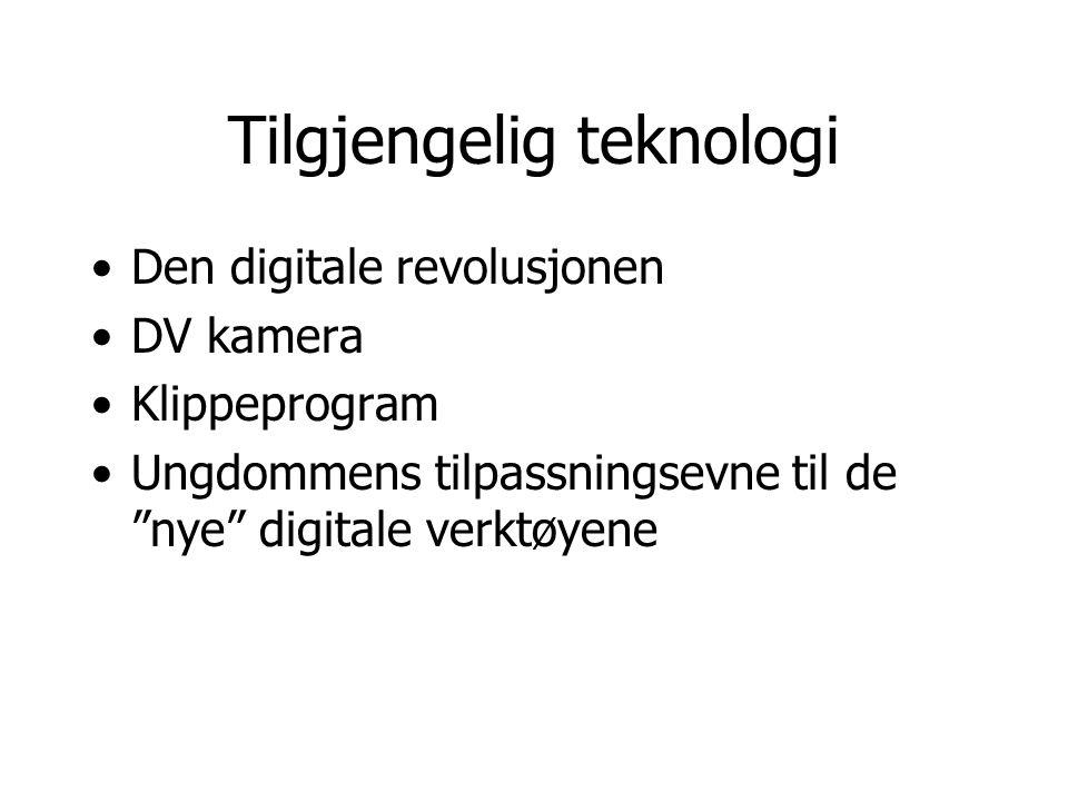 Tilgjengelig teknologi