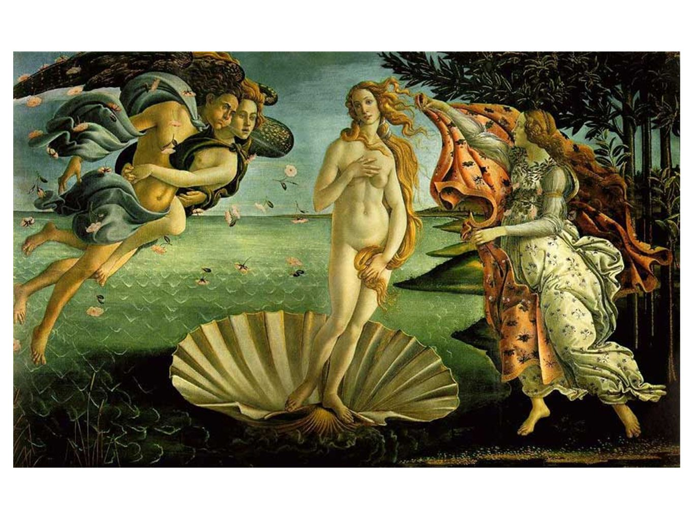 Sandro Botticelli Venus fødsel