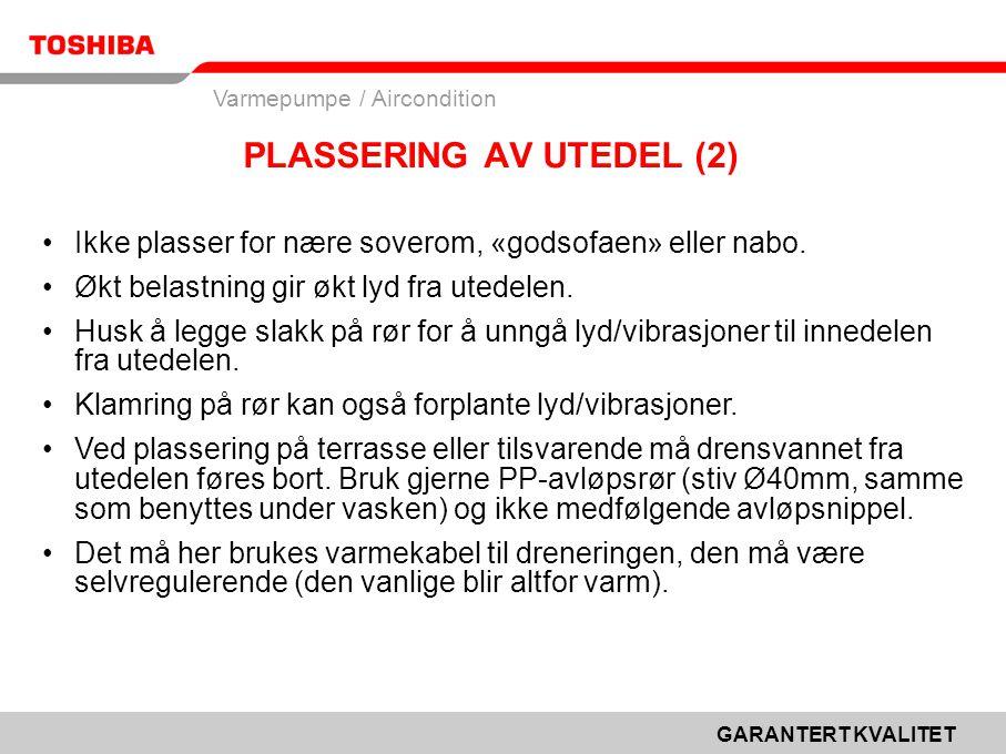 PLASSERING AV UTEDEL (2)