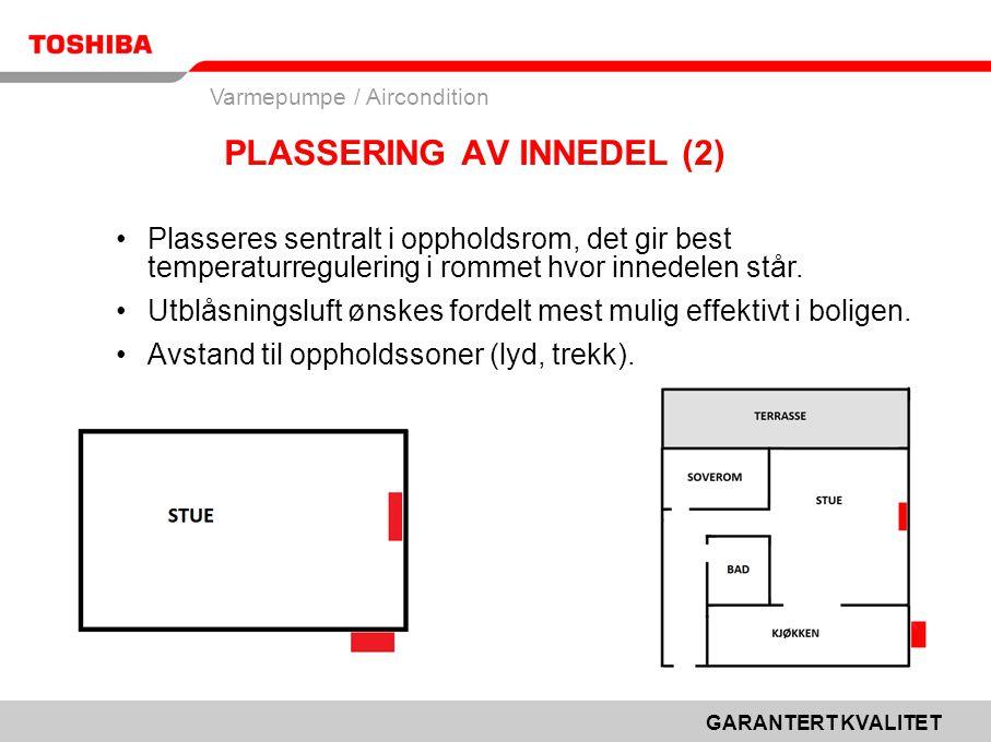 PLASSERING AV INNEDEL (2)