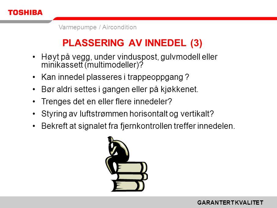 PLASSERING AV INNEDEL (3)